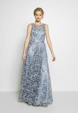 Společenské šaty - rauchblau