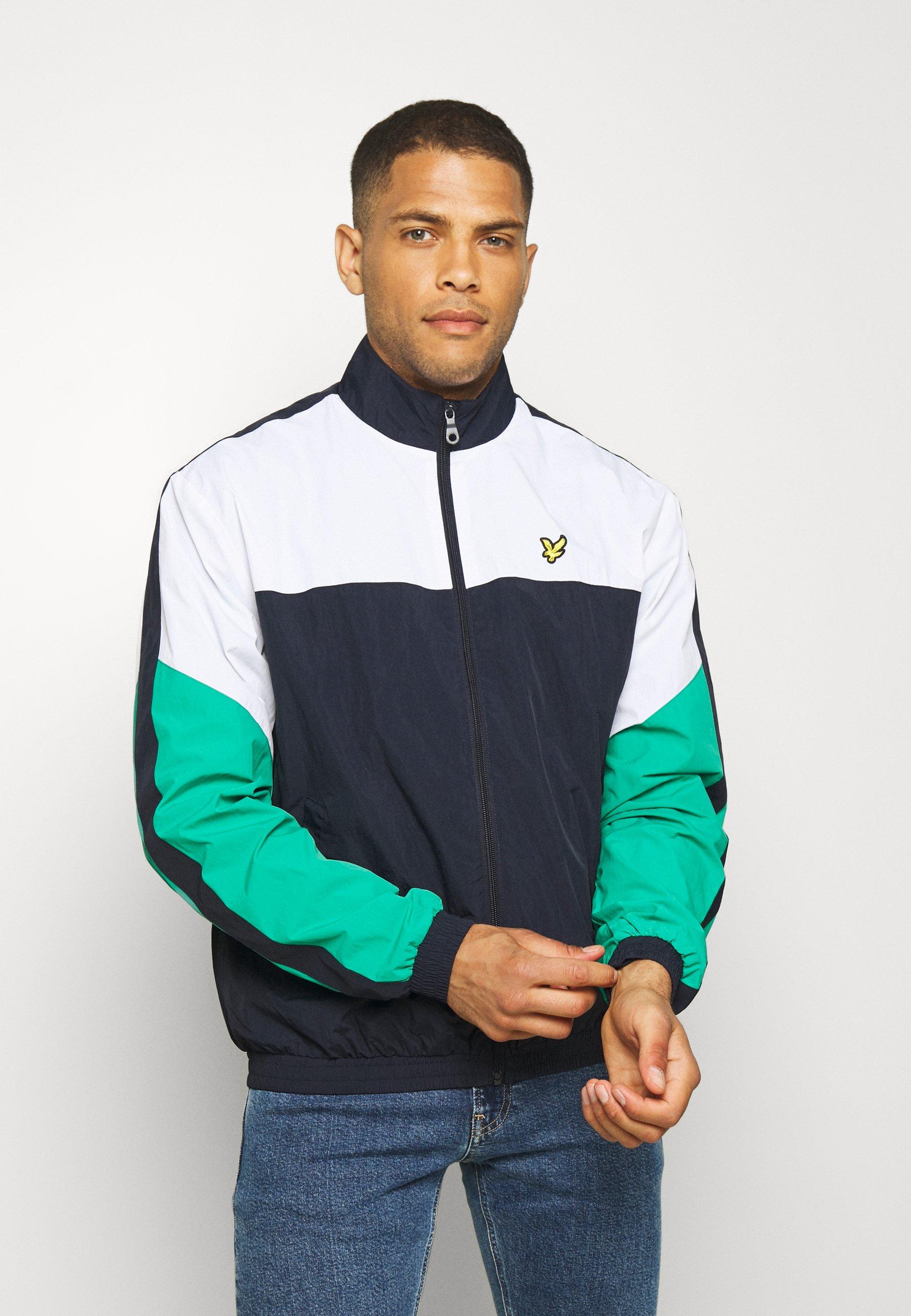 Men MULTI PANEL ZIP THROUGH TRACKTOP - Training jacket