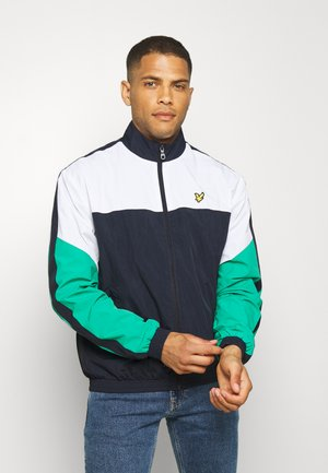 MULTI PANEL ZIP THROUGH TRACKTOP - Træningsjakker - dark navy
