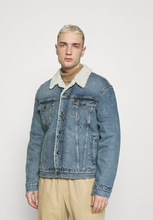 TRUCKER UNISEX - Denim jacket - blue denim