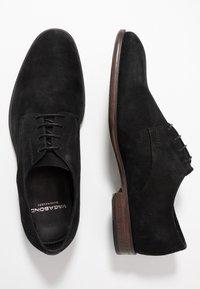 Vagabond - HARVEY - Smart lace-ups - black - 1