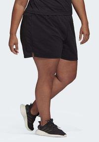 adidas Performance - ESSENTIALS INCLUSIVE SIZING SHORTS - Korte sportsbukser - black - 2