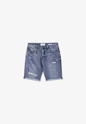 Jeansshorts - light-blue denim