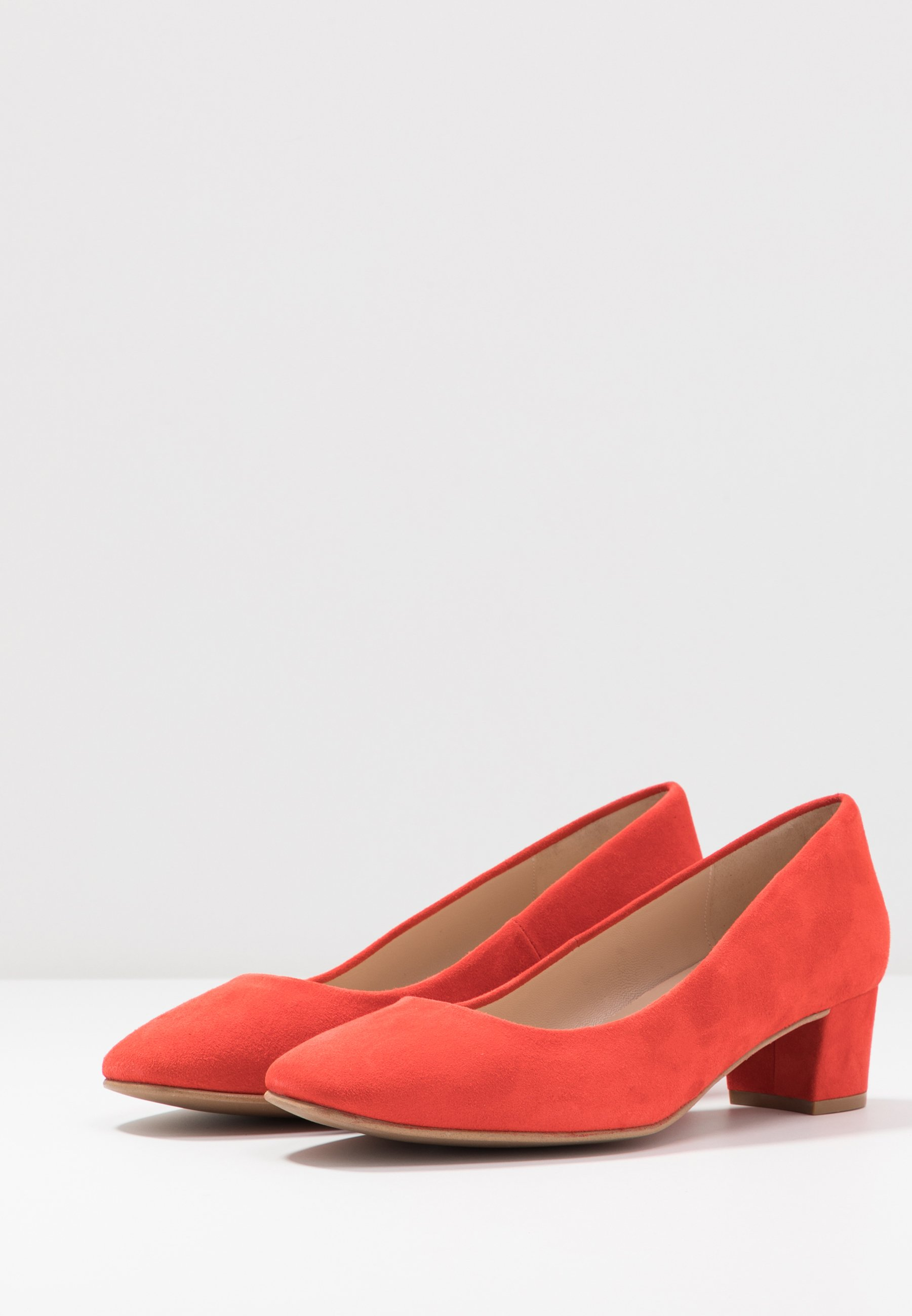 Brenda Zaro Wide Fit WIDE FIT AINARA - Escarpins - red pop - Chaussures à talons femme Pas cher