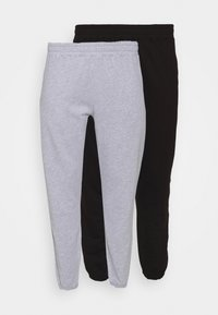 Missguided Plus - JOGGER 2 PACK - Trainingsbroek - black/grey - 5