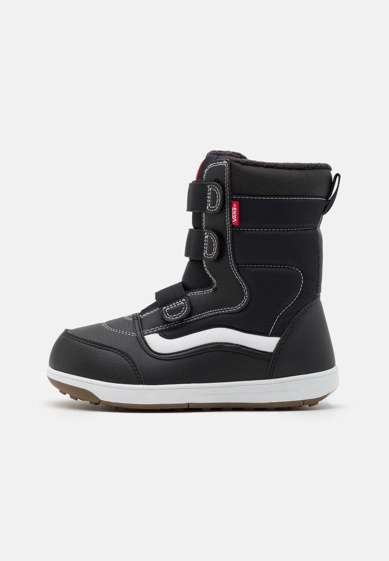 Vans - SNOW CRUISER MTE UNISEX - Winter boots - black/white