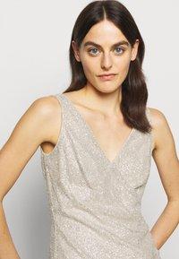 Lauren Ralph Lauren - TULIP DRESS - Společenské šaty - sparkling champagner - 3