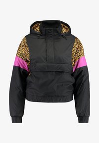 Urban Classics - LADIES MIXED PULL OVER JACKET - Overgangsjakker - black - 4