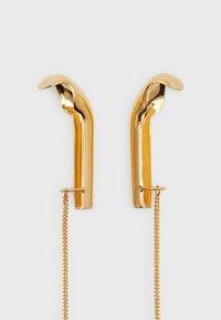 Vibe Harsløf - WE EARPHONE CAP DOUBLE AIRPOD - Jiné doplňky - gold-coloured - 0