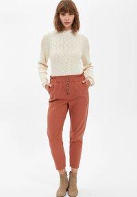 DeFacto - Trousers - bordeaux - 1
