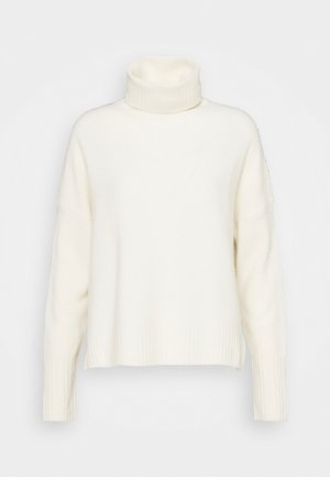 ROLL NECK - Jumper - ivory
