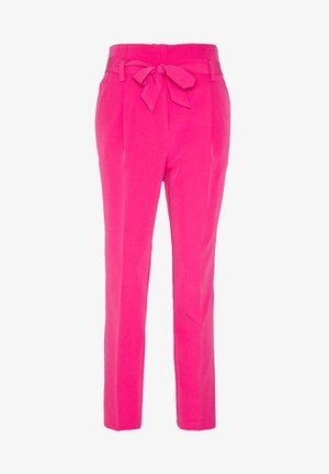 TIE TROUSER - Trousers - brightpink