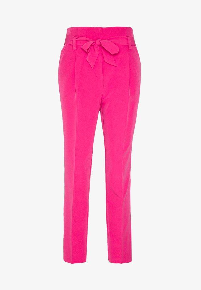 TIE TROUSER - Pantaloni - brightpink