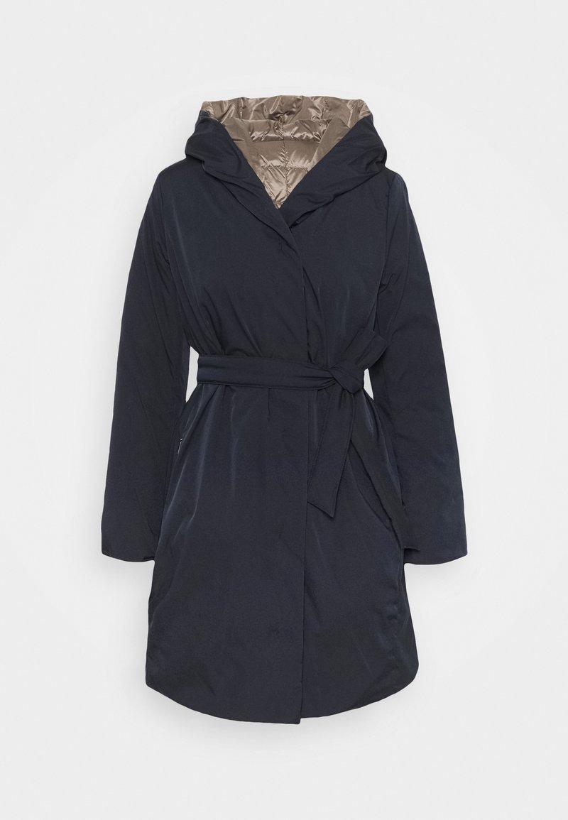 WEEKEND MaxMara - EGUALE - Kabát zprachového peří - blau