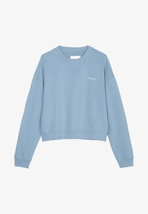 ROUND NECK MODERN COPPED FIT - Sweatshirt - fall sky