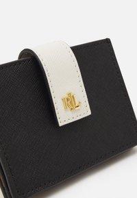 Lauren Ralph Lauren - CROSSHATCH - Wallet - black/antique - 3