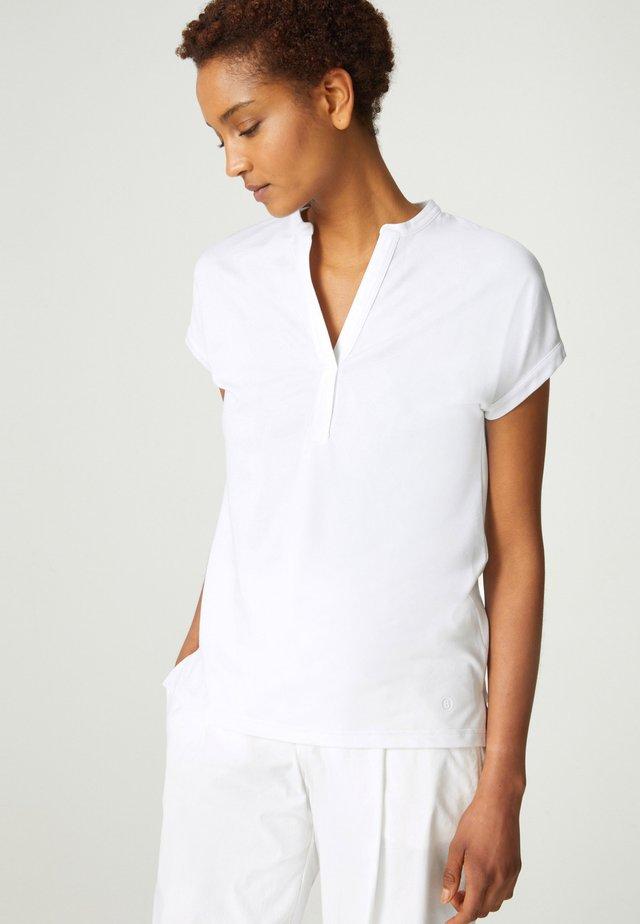 ELIN - Jednoduché triko - weiß