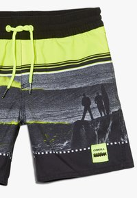 O'Neill - THE POINT - Swimming shorts - black/yellow - 2
