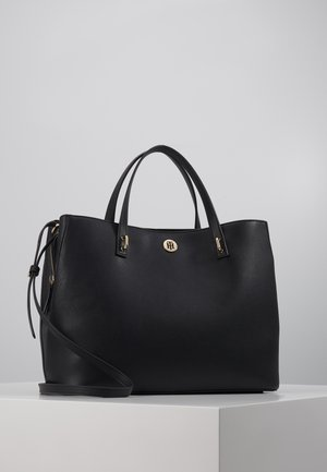 CHARMING TOMMY WORKBAG - Briefcase - black