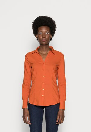 BLOUSE SLEEVE - Overhemdblouse - orange flame
