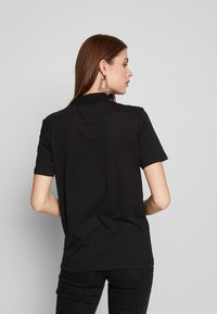 Even&Odd Tall - WITH WIDE COLLAR - Basic T-shirt - black - 2