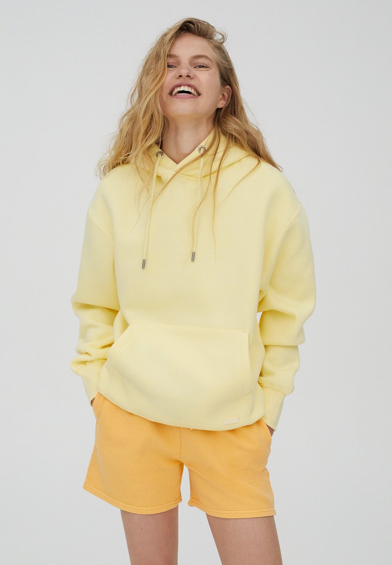 PULL&BEAR - Huppari - mottled light yellow