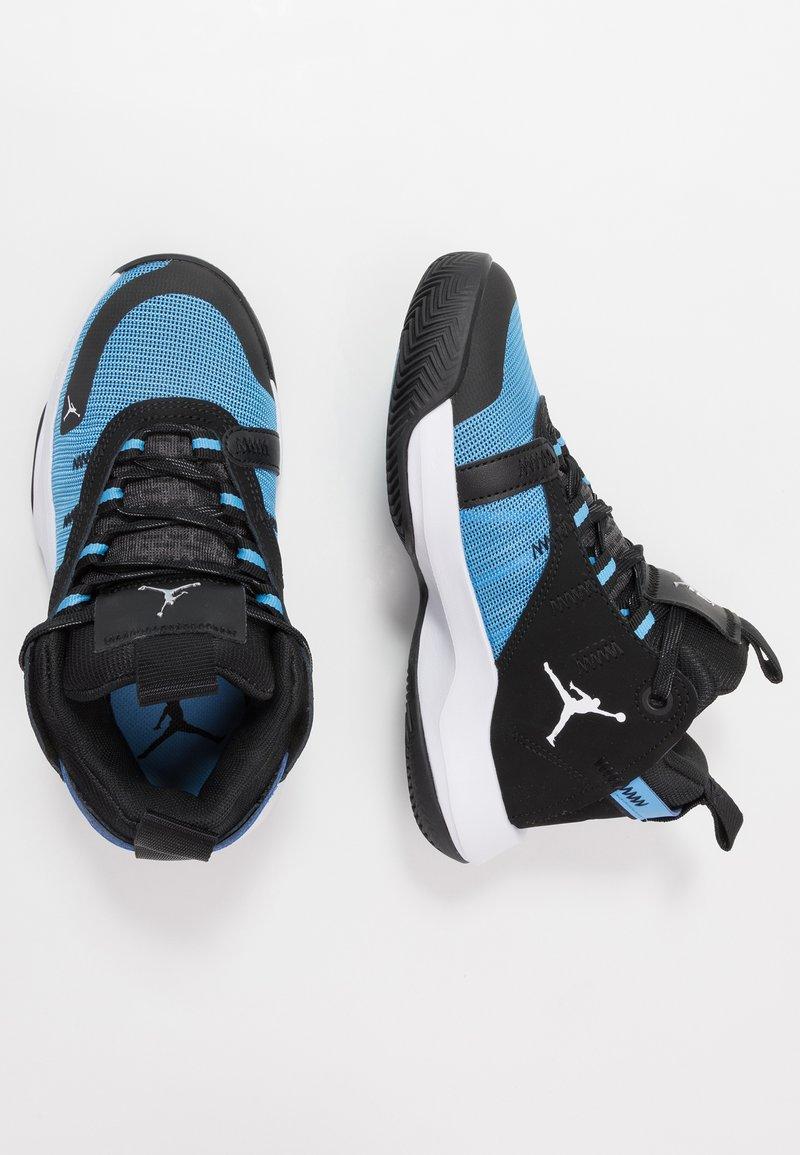 Jordan - JUMPMAN 2020 - Obuwie do koszykówki - university blue/metallic silver/black