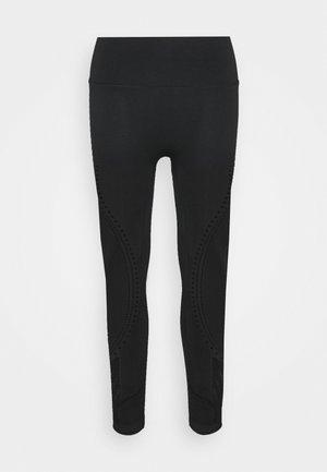 SEAMLESS 7/8  - Leggings - black