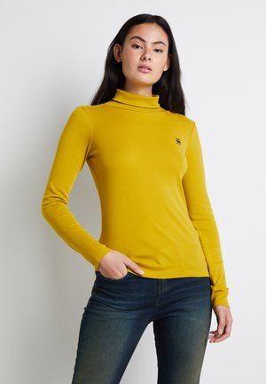 XINVA SLIM TURTLE T WMN L\S - Long sleeved top - senf