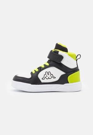 LINEUP UNISEX - Chaussures d'entraînement et de fitness - black/lime