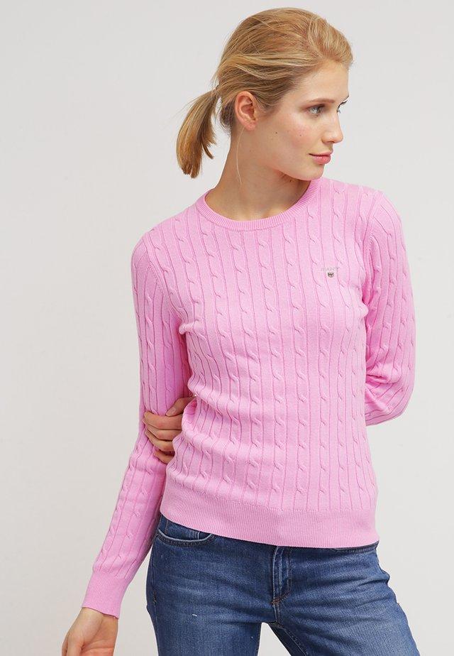 CABLE CREW - Strikpullover /Striktrøjer - pink