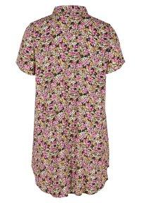 Zizzi - Button-down blouse - primula flower mix - 4