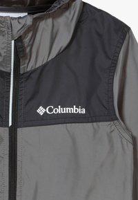 Columbia - BLOOMINGPORT UNISEX - Wiatrówka - city grey/black - 4