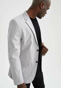 DeFacto - SLIM FIT - Blazer jacket - grey - 3