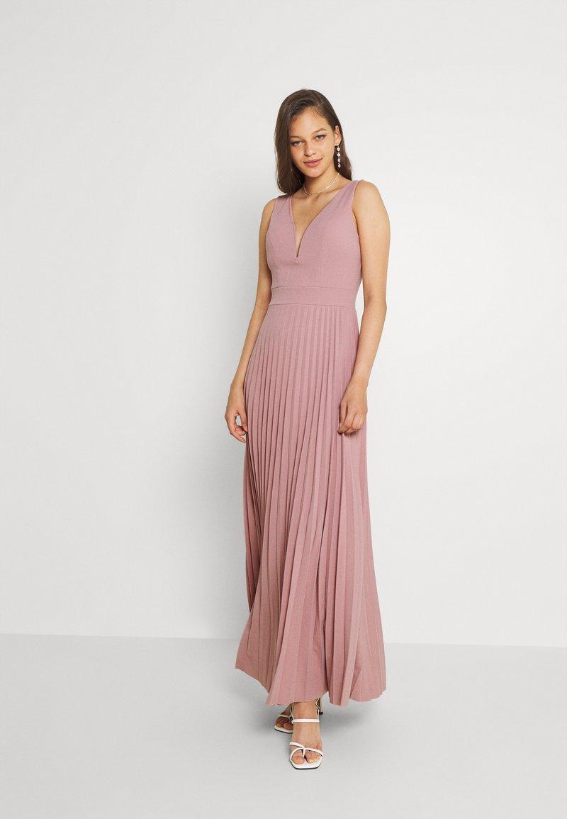 WAL G. - SAFA PLEATED MAXI DRESS - Occasion wear - blush pink