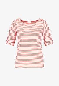 Gerry Weber - 1/2 ARM - Print T-shirt - ecru/weiss/rot/orange ringel - 0