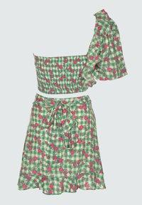 Trendyol - SET - Mini skirt - green - 1