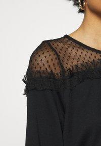 ONLY - ONLCHERRY ONECK - Sweatshirt - black - 5