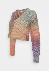 MLKIA CROPPED CARDIGAN - Jumper - riviera/multicolor