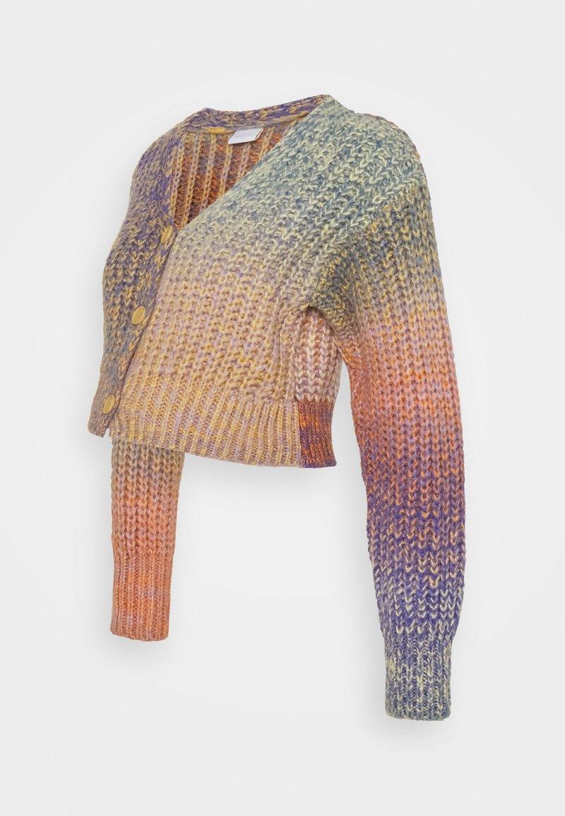 MAMALICIOUS - MLKIA CROPPED CARDIGAN - Jumper - riviera/multicolor