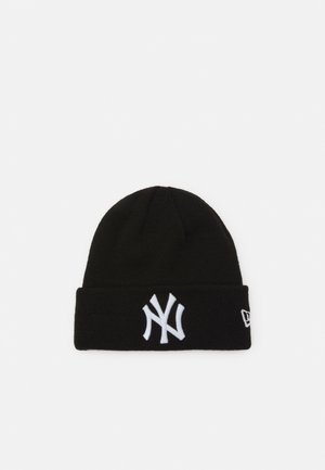 KIDS ESSENTIAL CUFF UNISEX - Beanie - black/white