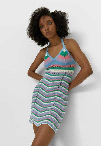 Jumper dress - multi-coloured