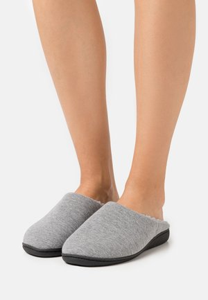 Slippers - grey/black