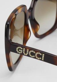 Gucci - Okulary przeciwsłoneczne - havana/brown - 4