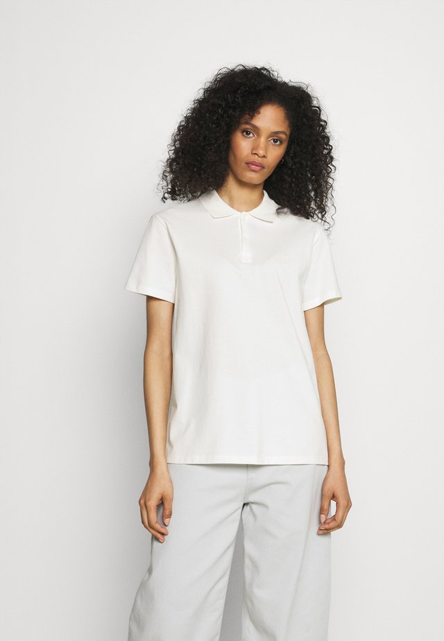 WOMEN - Polo shirt - ivory