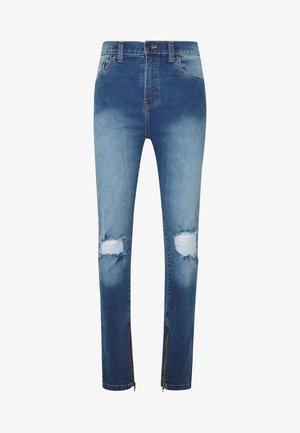 POPLAR - Jeans Skinny - mid blue
