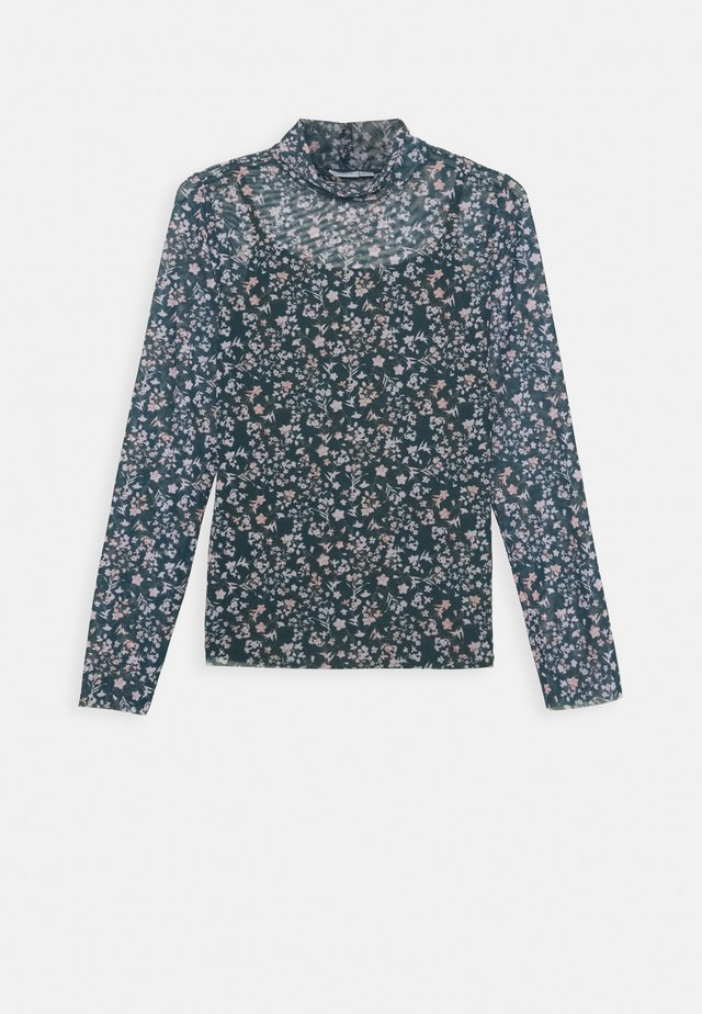 NKFKLARISA SLIM - T-shirt à manches longues - darkest spruce