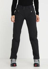 Vaude - WOMEN'S SKOMER WINTER PANTS - Outdoor trousers - black - 0