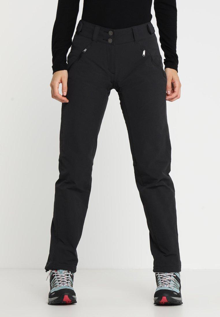 Vaude - WOMEN'S SKOMER WINTER PANTS - Outdoor trousers - black