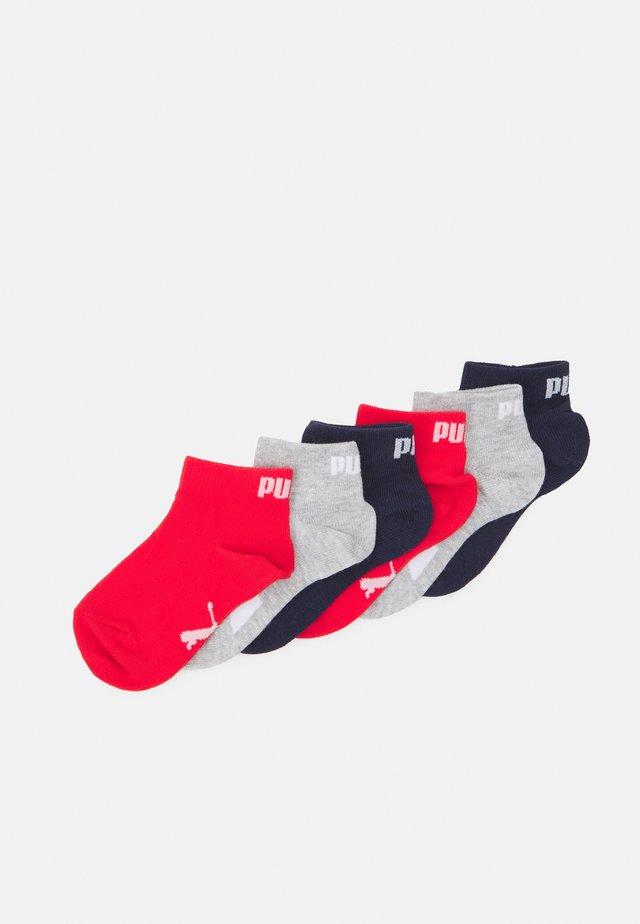 KIDS QUARTER 9 PACK UNISEX - Socks - white/blue/red